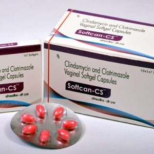 Clindamycin 250mg + Clotrimazole 100mg Vaginal Softgel Capsules